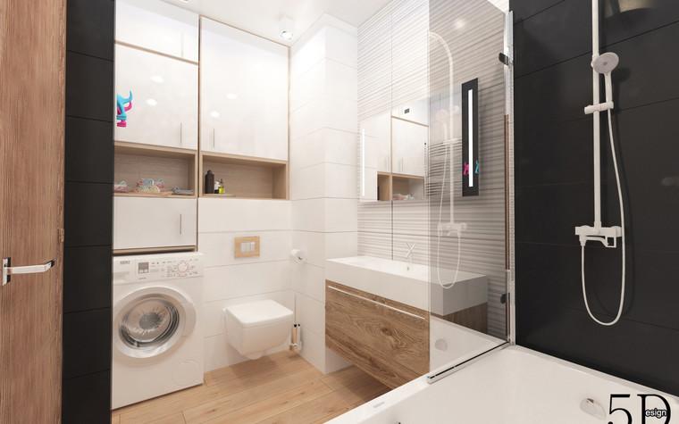Квартира. ванная из проекта Однокомнатная квартира, фото №81286