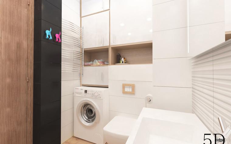 Квартира. ванная из проекта Однокомнатная квартира, фото №81287