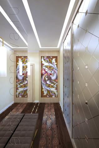 Квартира. гостиная из проекта Квартира на Таганке, фото №81384