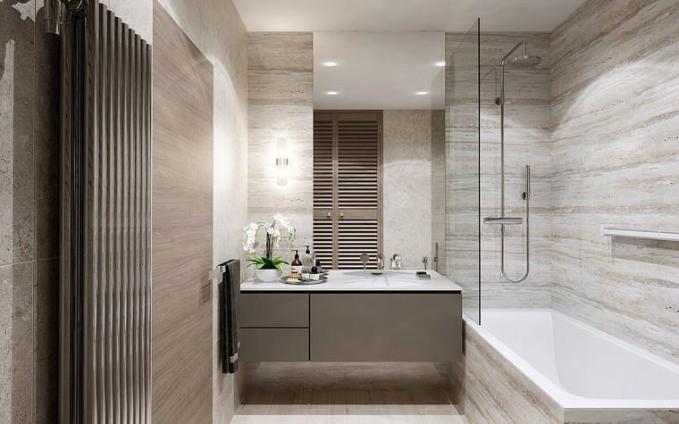 Квартира. ванная из проекта ЖК Измайловский, фото №81563