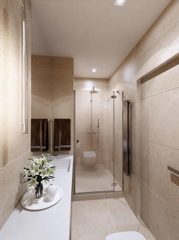 Квартира. ванная из проекта ЖК Измайловский, фото №81565