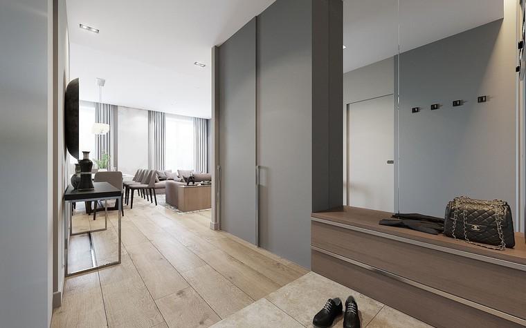 Квартира. прихожая из проекта ЖК Измайловский, фото №81559