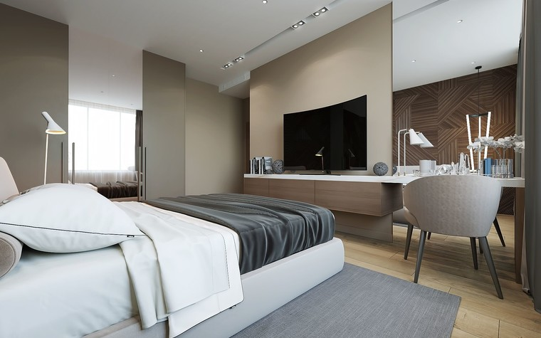 Квартира. спальня из проекта ЖК Измайловский, фото №81562
