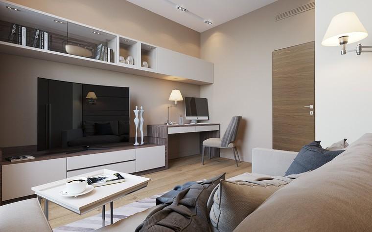 Квартира. гостиная из проекта ЖК Измайловский, фото №81555