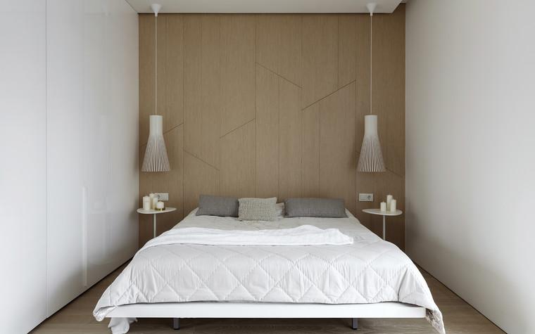 Квартира. спальня из проекта ЖК Мичуринский, фото №82210