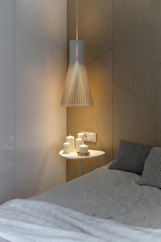 Квартира. спальня из проекта ЖК Мичуринский, фото №82212