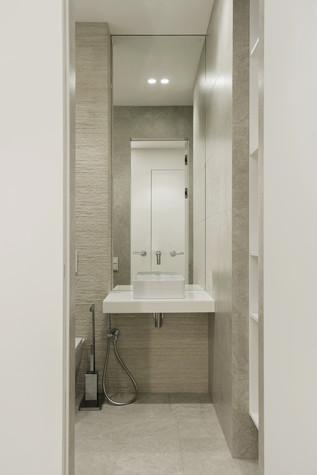 Квартира. ванная из проекта ЖК Мичуринский, фото №82214