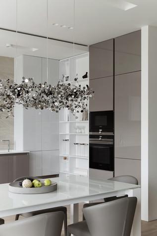 Квартира. кухня из проекта ЖК Мичуринский, фото №82206