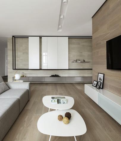 Квартира. гостиная из проекта ЖК Мичуринский, фото №82202