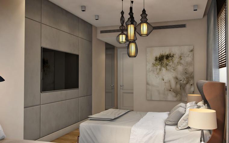 Квартира. спальня из проекта SCHUKINSKAYA FLAT, фото №83220