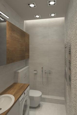 Квартира. ванная из проекта SCHUKINSKAYA FLAT, фото №83226