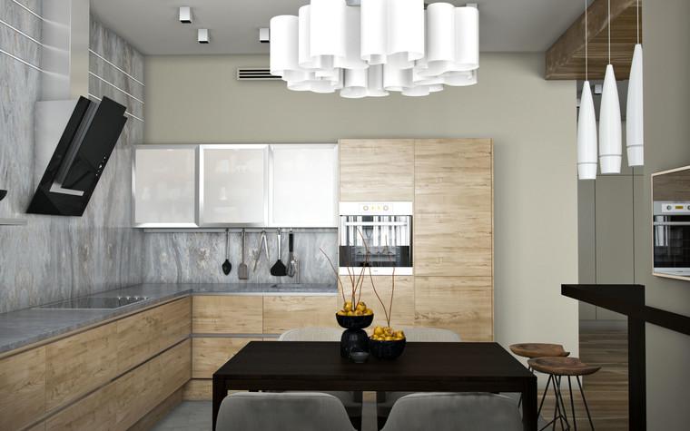 Квартира. кухня из проекта SCHUKINSKAYA FLAT, фото №83216