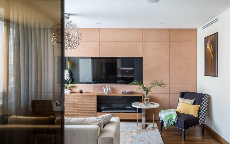 Квартира. гостиная из проекта Желтый дом, фото №83781
