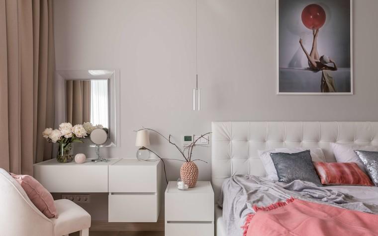 Квартира. спальня из проекта Желтый дом, фото №83798