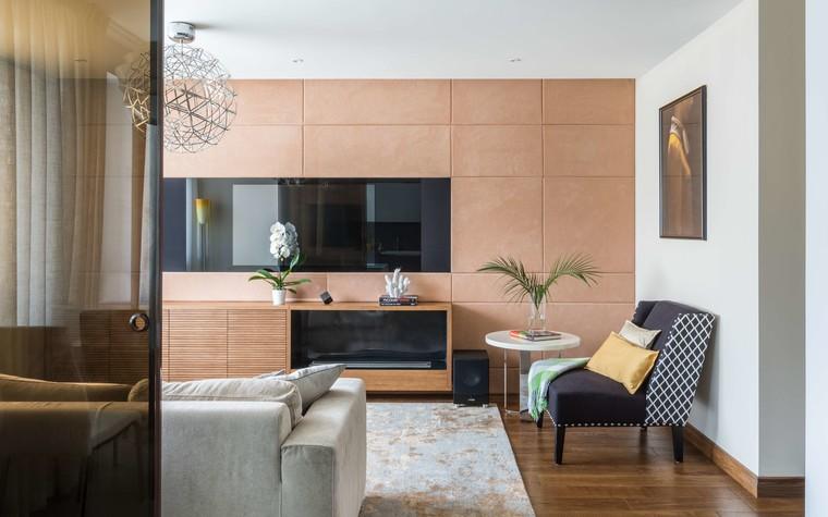 Квартира. гостиная из проекта Желтый дом, фото №83782