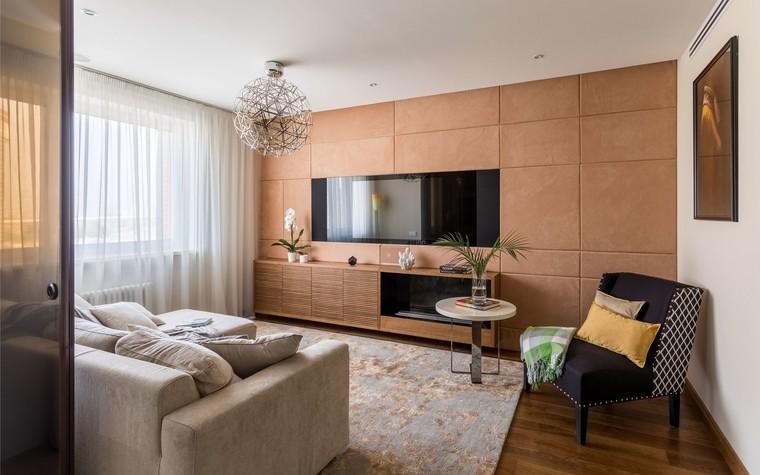 Квартира. гостиная из проекта Желтый дом, фото №83784