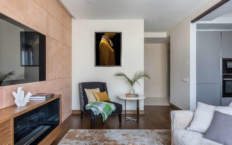 Квартира. гостиная из проекта Желтый дом, фото №83785