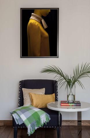 Квартира. гостиная из проекта Желтый дом, фото №83786