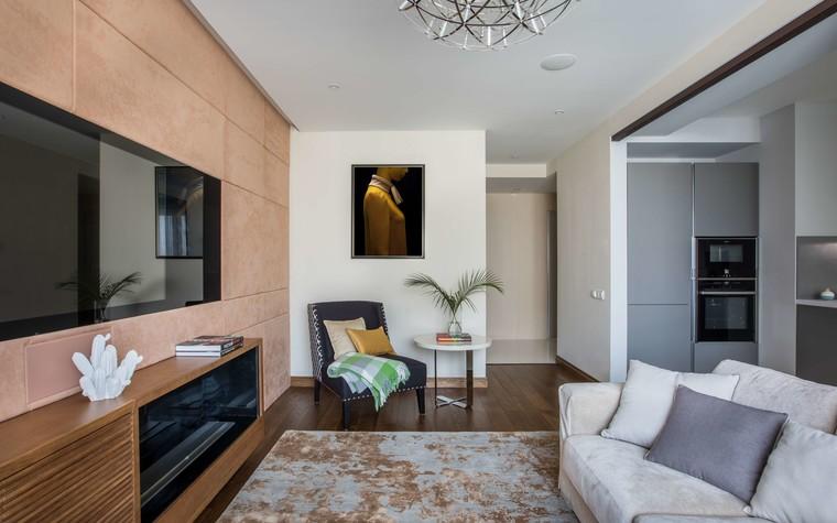 Квартира. гостиная из проекта Желтый дом, фото №83787