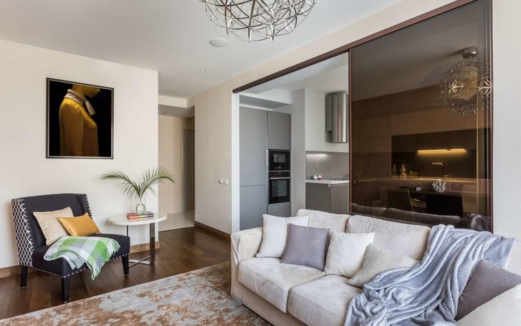 Квартира. гостиная из проекта Желтый дом, фото №83789