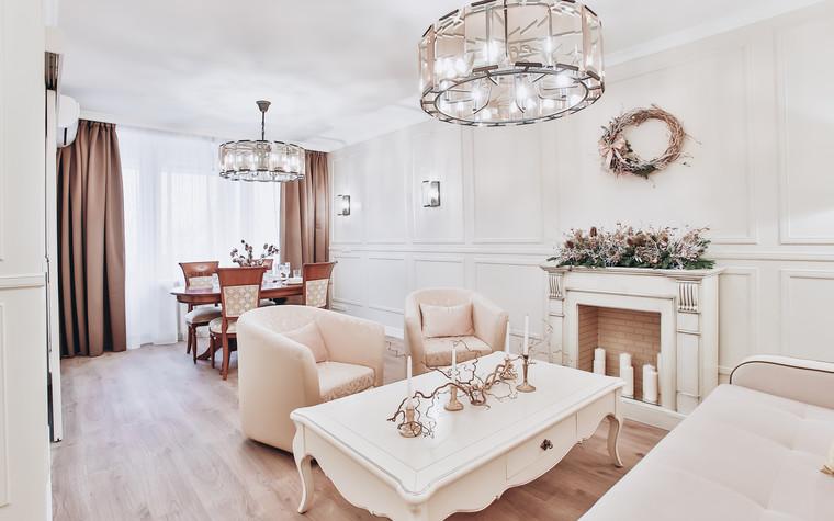Квартира. гостиная из проекта Ideal classic, фото №84070