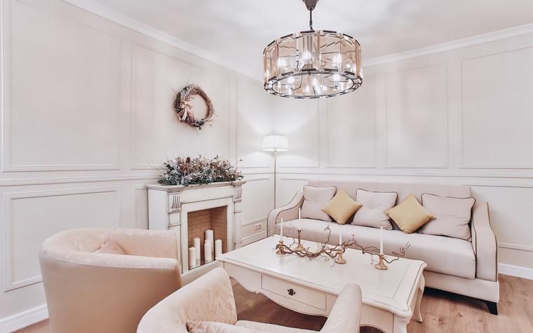 Квартира. гостиная из проекта Ideal classic, фото №84071