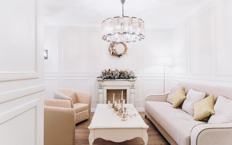 Квартира. гостиная из проекта Ideal classic, фото №84065