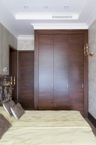 Квартира. спальня из проекта Милый дом, фото №84804
