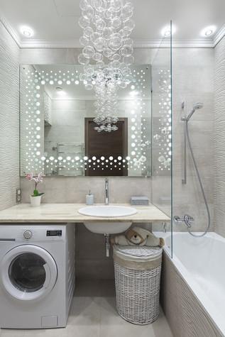 Квартира. ванная из проекта Милый дом, фото №84807