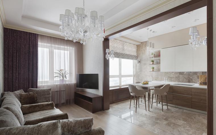 Квартира. гостиная из проекта Милый дом, фото №84800