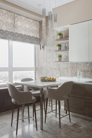 Квартира. кухня из проекта Милый дом, фото №84799