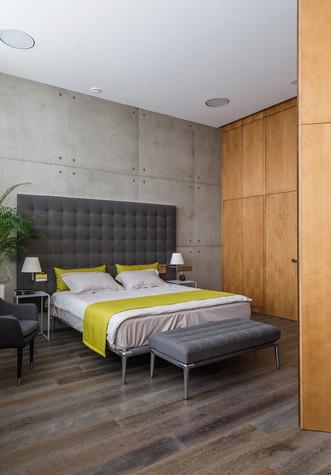 Квартира. спальня из проекта БОЛЬШОЙ, фото №86928