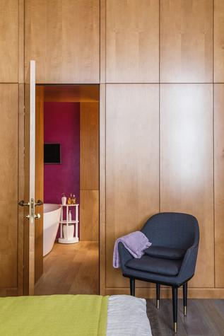 Квартира. спальня из проекта БОЛЬШОЙ, фото №86929