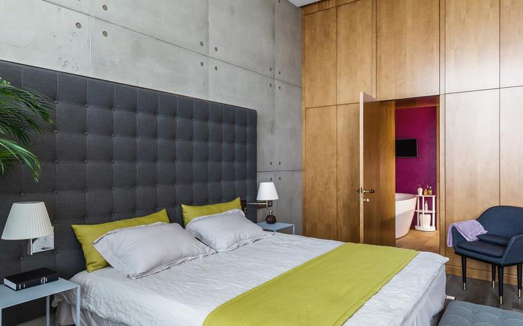 Квартира. спальня из проекта БОЛЬШОЙ, фото №86931