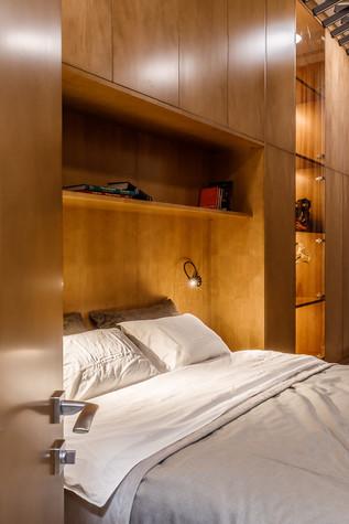 Квартира. спальня из проекта БОЛЬШОЙ, фото №86933