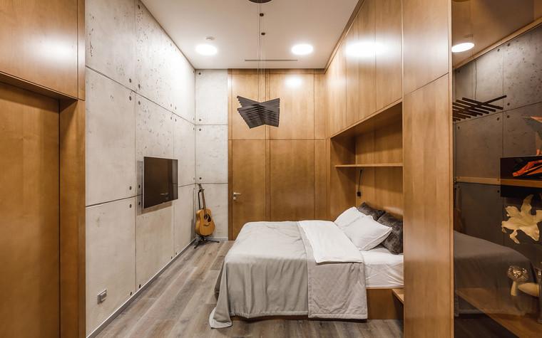 Квартира. спальня из проекта БОЛЬШОЙ, фото №86934