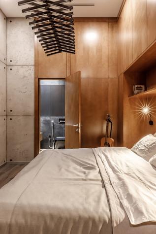 Квартира. спальня из проекта БОЛЬШОЙ, фото №86935