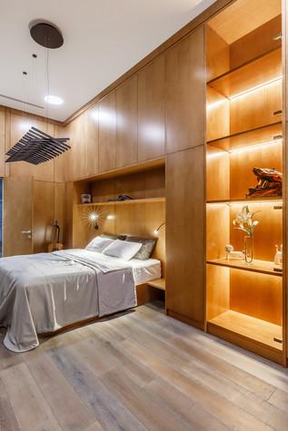 Квартира. спальня из проекта БОЛЬШОЙ, фото №86936