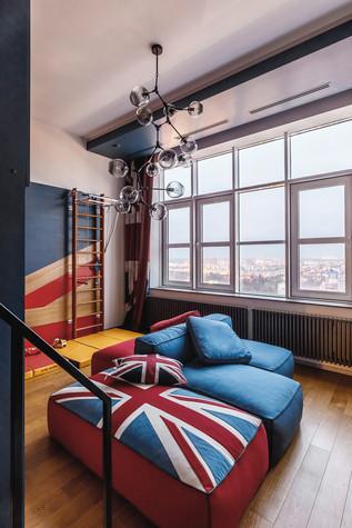 Квартира. спальня из проекта БОЛЬШОЙ, фото №86937