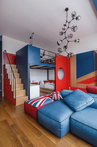 Квартира. спальня из проекта БОЛЬШОЙ, фото №86940