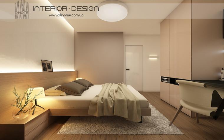 Квартира. спальня из проекта FOREST SILENCE, фото №89235
