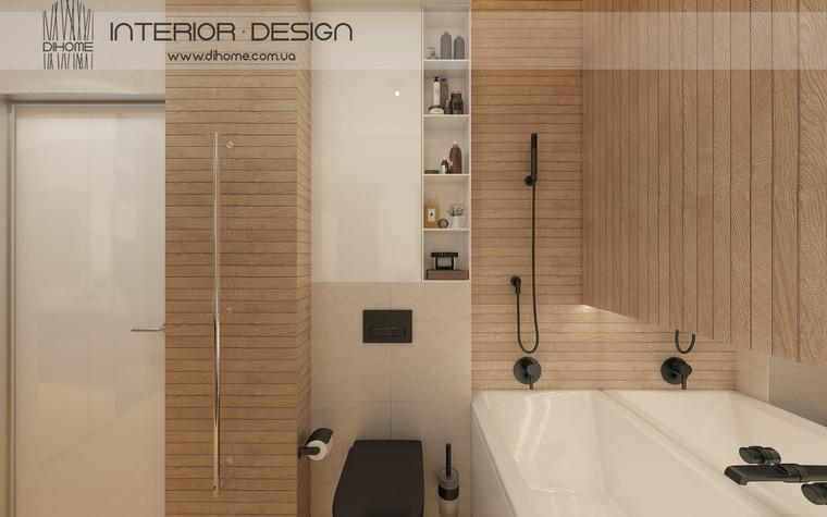 Квартира. ванная из проекта FOREST SILENCE, фото №89241