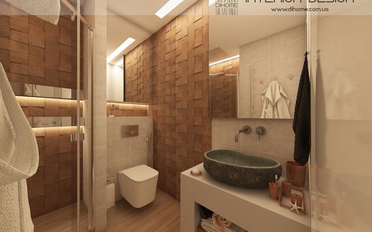 Квартира. ванная из проекта FOREST SILENCE, фото №89242