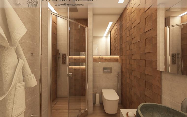 Квартира. ванная из проекта FOREST SILENCE, фото №89243