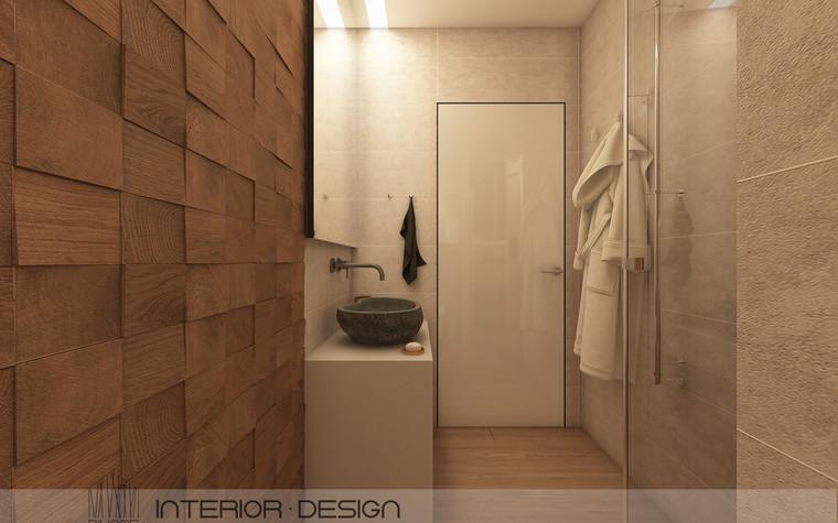 Квартира. ванная из проекта FOREST SILENCE, фото №89244