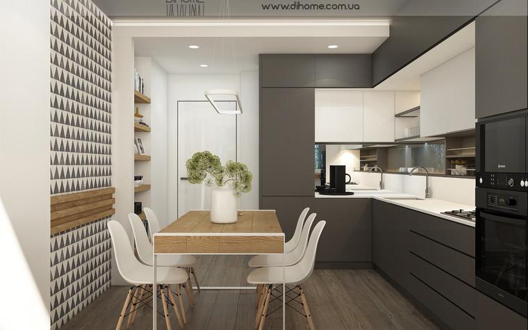Квартира. кухня из проекта FOREST SILENCE, фото №89223