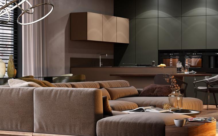 Квартира. гостиная из проекта Autumn mood, фото №90395