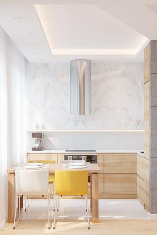 Квартира. кухня из проекта Comfort, фото №90463