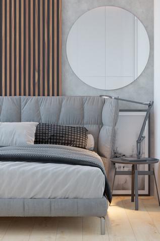 Квартира. спальня из проекта Comfort, фото №90472