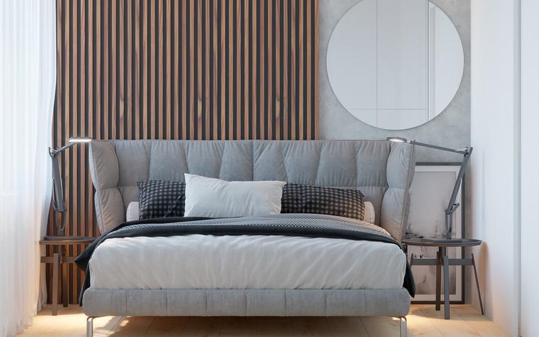 Квартира. спальня из проекта Comfort, фото №90473
